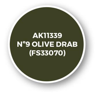 Nº9 Olive Drab (FS33070)