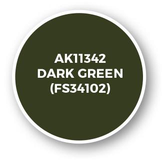 Dark Green (FS34102)