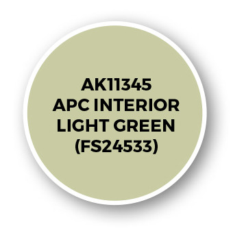 APC Interior Light Green (FS24533)