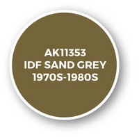 IDF Sand Grey 1970s-1980s