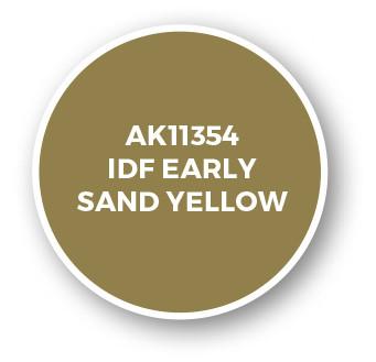IDF Early Sand Yellow