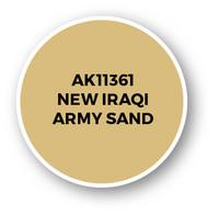 New Iraqi Army Sand