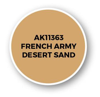 French Army Desert Sand