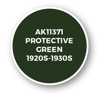 Protective Green 1920s-1930s