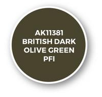 British Dark Olive Green PFI