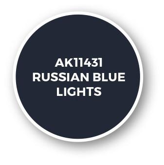 Russian Blue Lights