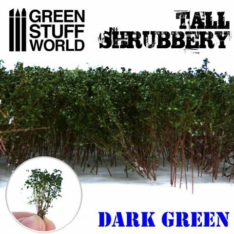 Shrubbery Dark Green
