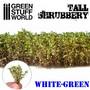 Shrubbery White Green