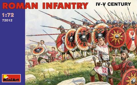 Roman Infantry IV-V Century  1/72