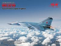 MiG-25 PD Soviet Interceptor Fighter  1/72