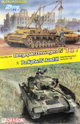 Bergepanzer IV / PzKpfw IV Ausf.H 1/35