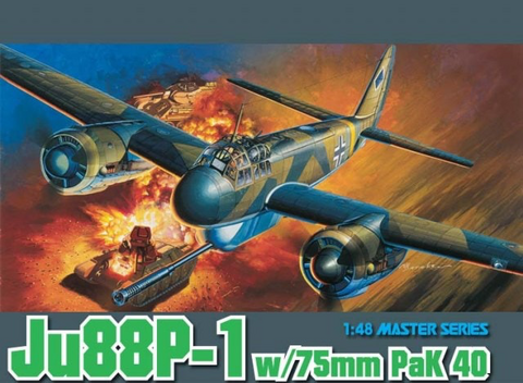 Junkers Ju-88P-1 with 7.5cm PaK40  1/48