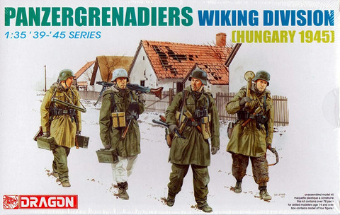 Panzergrenadiers Wiking Division, Hungary 1945  1/35