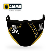 Ammo Face Mask Jolly Rogers