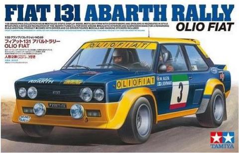 Fiat 131 Abarth Rally, Olio Fiat  1/20