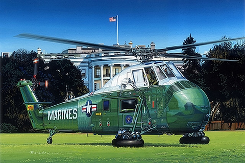 VH-34D Marine One (Re-Edition)1/48