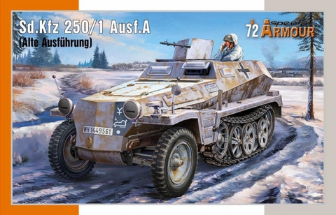 SdKfz 250/1 Ausf.A (Alte Ausfürung)  1/72