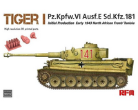 Tiger I Initial Production, North Africa 1943  1/35