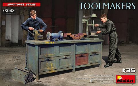 Toolmakers Figure Set  1/35