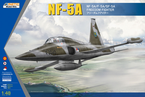 NF-5A Freedom Fighter II (Europe Edition)1/48