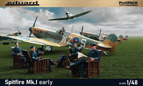 Supermarine Spitfire Mk.I Early. Profipack  1/48