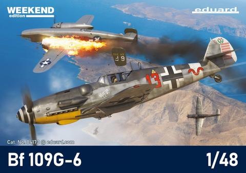 Messerschmitt Bf 109G-6, Weekend Edition  1/48