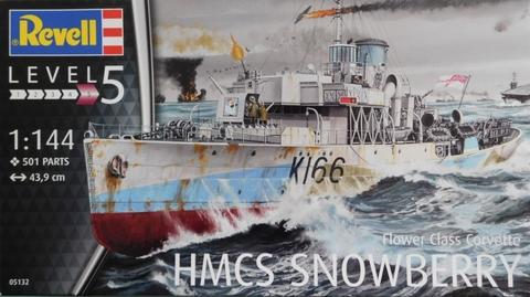 HMS Snowberry British Navy Corvette  1/144