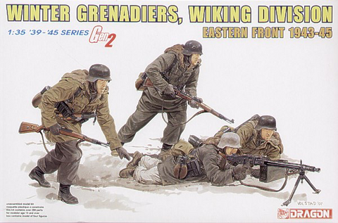German Winter Grenadiers Wiking Division Eastern Front (Gen2) 1/35