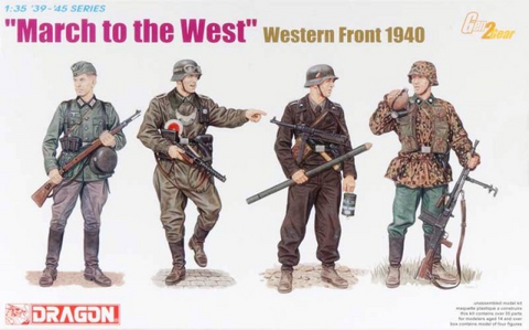 March to the West 1940