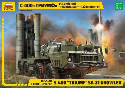 S-400 Triumf Missile System  1/72