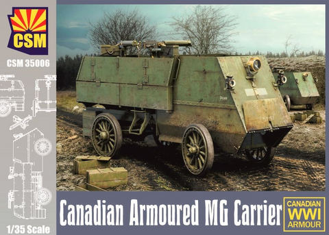 Canadian Armoured MG Carrier  1/35