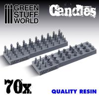 Candels Set (Resin) 70kpl  1/48-1/32
