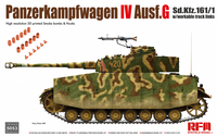 PzKpfw IV Ausf.G with Workable Tracks  1/35