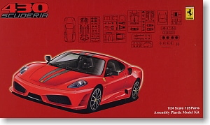 RS-55 Ferrari F430 Scuderia  1/24