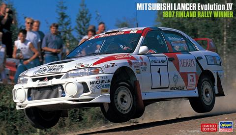 Mitsubishi Lancer Evo IV, 1997 Finland Rally Winner  1/24