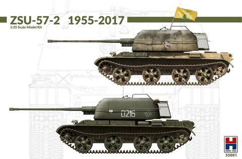 ZSU-57-2 ex Takom  (Merkinnät myös Suomen asevoimien vaunulle)  1/35