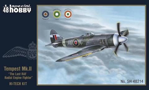 """Hawker Tempest Mk.II """"Hi-Tech Kit"""" 1/48"""