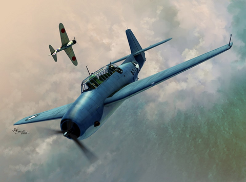 Grumman TBF-1 Avenger Over Midway and Cuadalcanal1/72