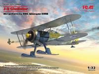 J-8 Gloster Gladiator,  Swedish Fighter, Winter War  1/32
