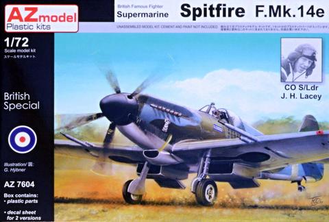 Supermarine Spitfire F.Mk.14E J.H.Lacey  1/72