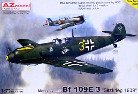 Messerschmitt Bf109 E-3 Sitzkrieg  1/72