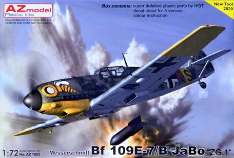 Messerschmitt Bf109 E-7/B  JaBo ZG.1  1/72