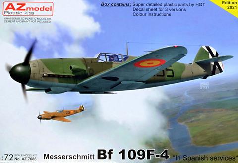 Messerschmitt Bf109 F-4 in Spanish Service  1/72