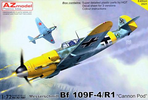 Messerschmitt Bf109 F-4/R1 Cannon Pod  1/72