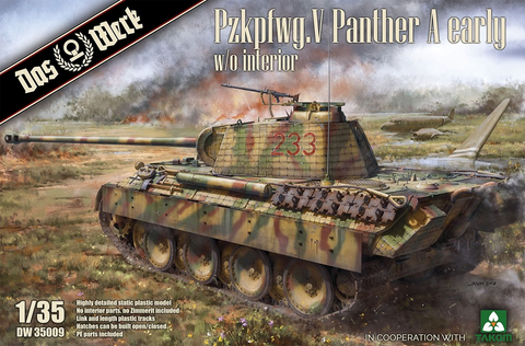 Panther Ausf.A Early Production  1/35