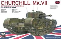 Churchill Mk.VII British Tank  1/35