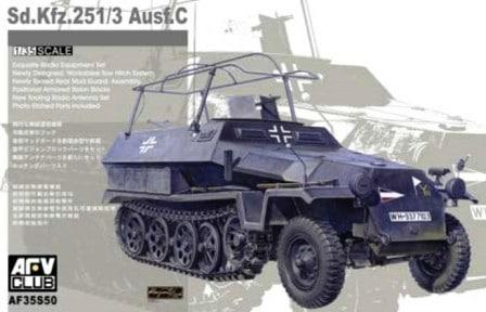 SdKfz 251/3 Ausf.C Funkpanzer  1/35