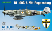 Messerschmitt Bf109 G-6 MTT Regensburg Weekend Edition  1/48