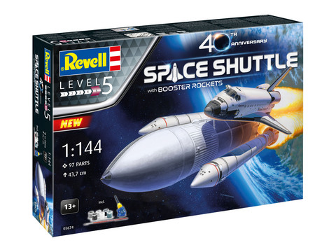 Space Shuttle with Booster Rockets 40th Anniversary  1/144