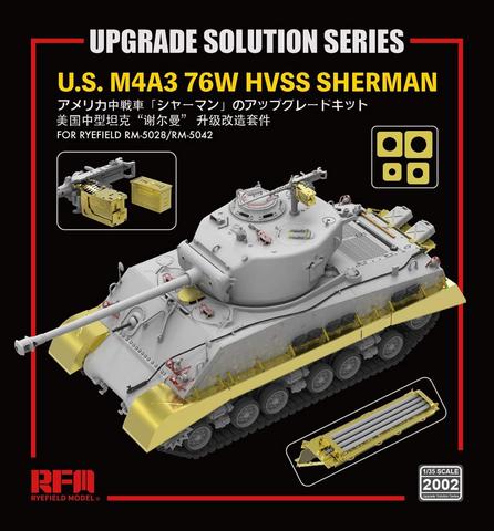 Upgrade Set for M4A3 Sherman HVSS  1/35